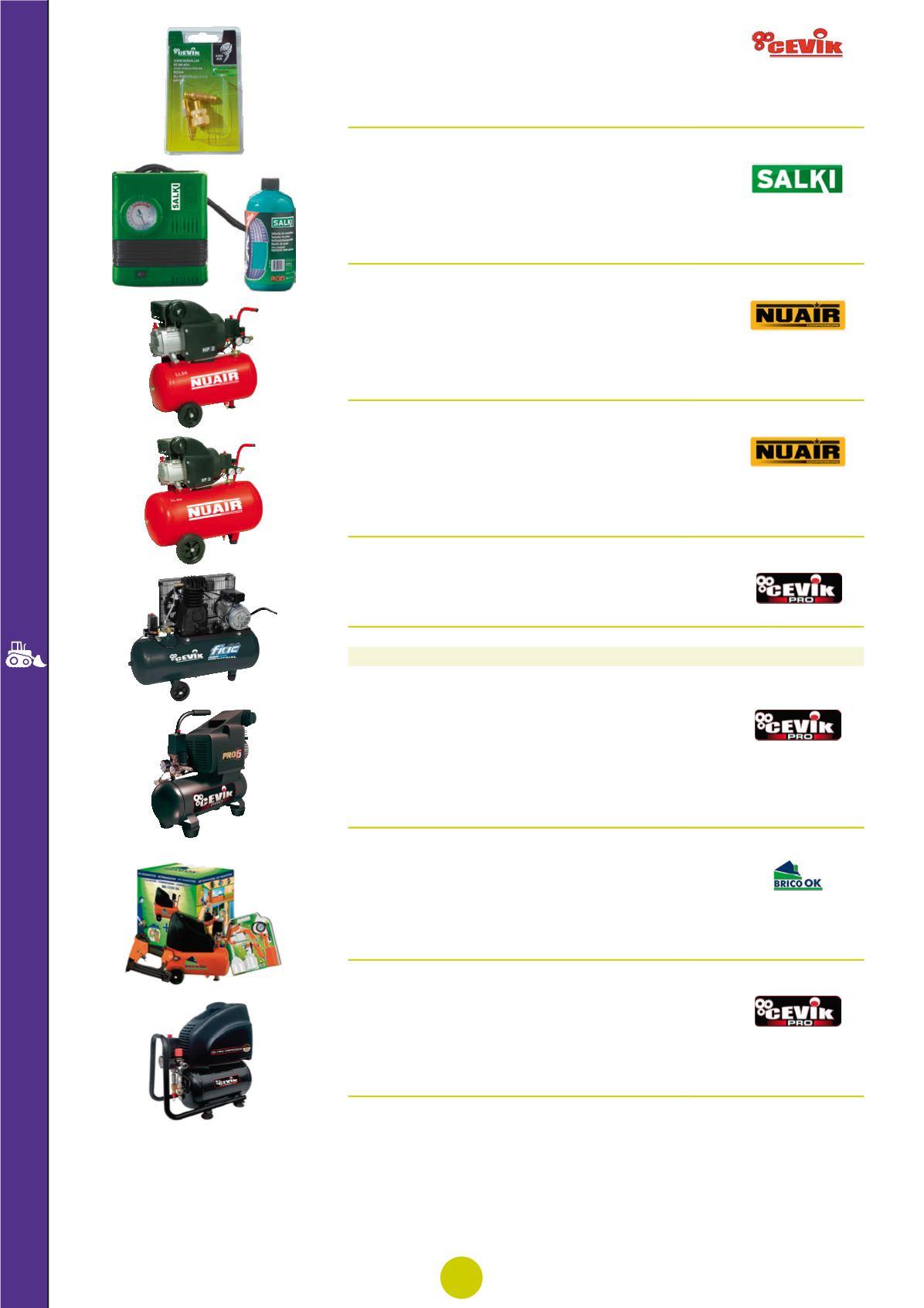 SALAKA V/álvula Manual de compresor de Aire 1PC 1 4NPT V/álvula Manual de Metal en l/ínea